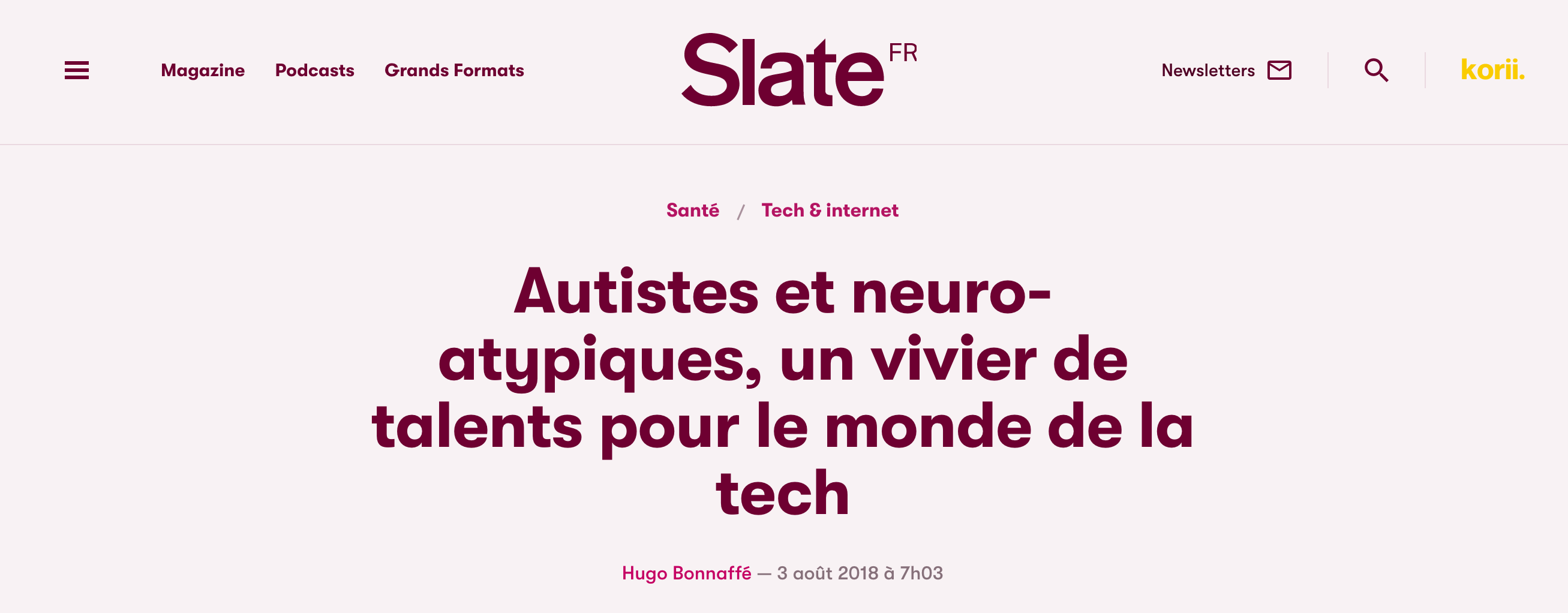 article Slate neuroatypiques tec h